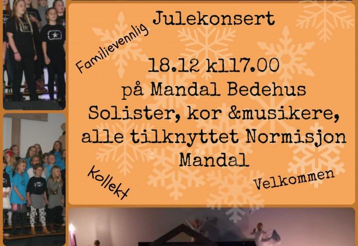 Julekonsert 18.12