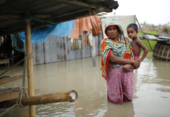 Kollekt til flomrammede i India og Bangladesh