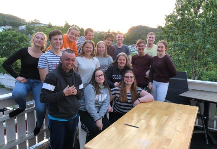 Åpent hus sommeravslutning og besøk fra Tsjekkia