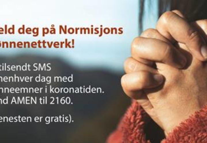 Bli med i Normisjons bønnenettverk