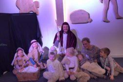 Vår første julaftengudstjeneste