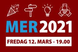 Bli med på MER 2021